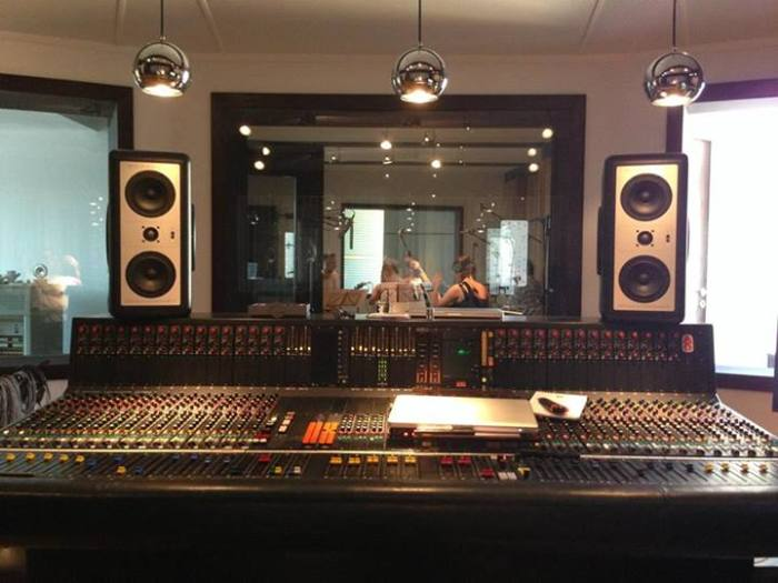 recording for my new album...